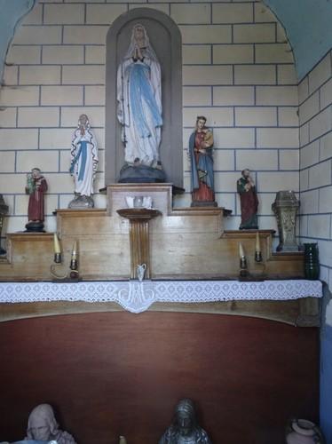 Brakel Steneplein zonder nummer Interieur van de kapel
