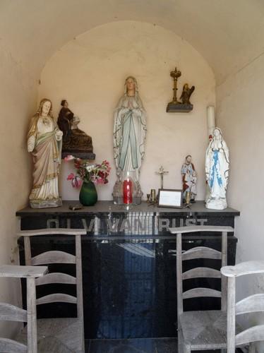 Brakel Terkleppe Interieur van de kapel Onze-Lieve-Vrouw van Rust