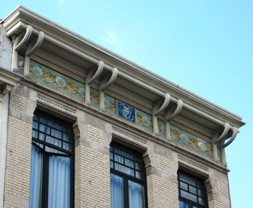 Antwerpen Ballaarstraat 8-10 hoofdgestel