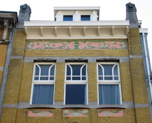 Antwerpen Clementinastraat 24 tegelpanelen