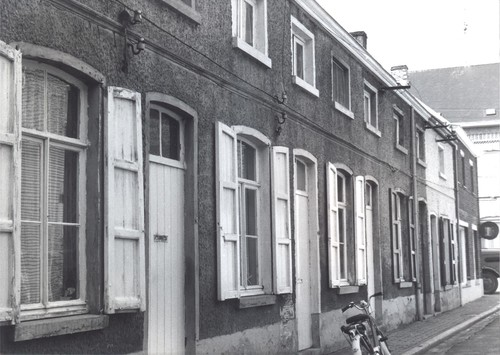 Aalst Hofstade vroeger Leopoldstraat 6-16