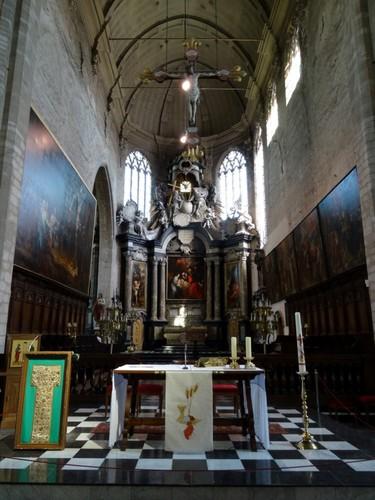 Mechelen Sint-Janskerkhof zonder nummer Interieur