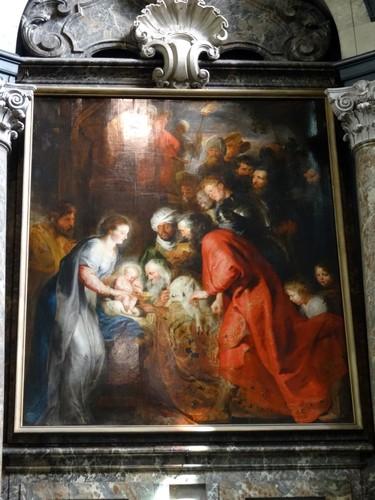 Mechelen Sint-Janskerkhof zonder nummer Aanbidding van de drie Wijzen