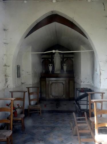 Zwalm Latemdreef zonder nummer Interieur van de Groot Kapelle