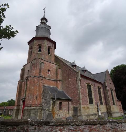 Zwalm Borstekouterstraat 59 Sint-Denijskerk