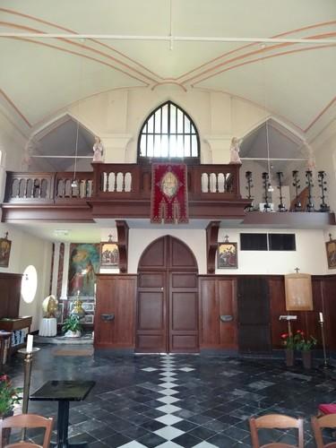 Sint-Laureins Kerkstraat 2 Doksaal van de Sint-Niklaaskerk