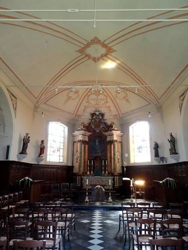 Sint-Laureins Kerkstraat 2 Interieur van de Sint-Niklaaskerk