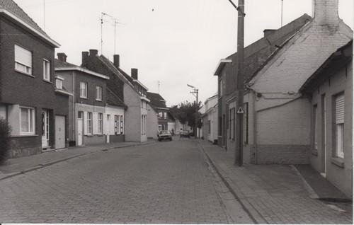 Evergem Ertvelde Garenstraat straatbeeld