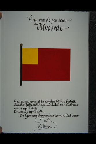 Vilvoorde Vlag