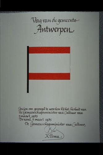 Antwerpen Vlag