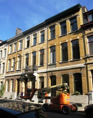 Geheel van drie gekoppelde burgerhuizen