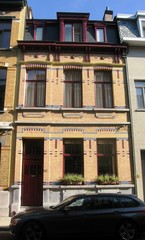 Burgerhuis met art-nouveau-inslag