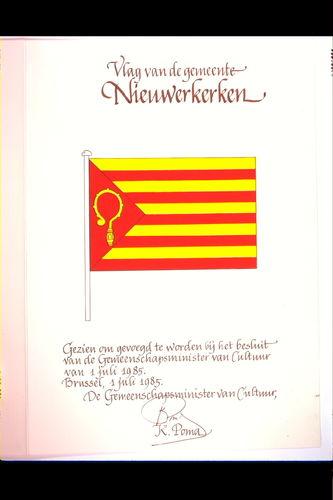 Nieuwerkerken Vlag