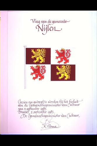 Nijlen Vlag