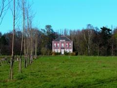 Parkje van het kasteel van Halbeek