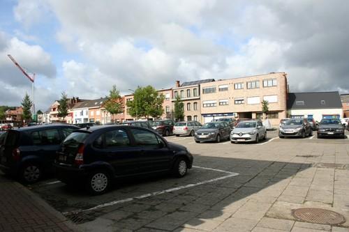 Mieregemstraat plein