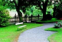 Parkje van Villa Les Tilleuls