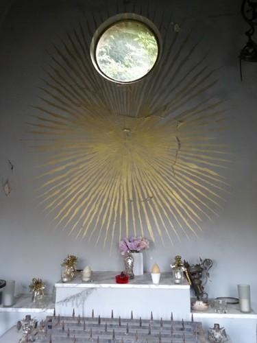 Maarkedal Nederholbeekstraat 226 Interieur van de kapel