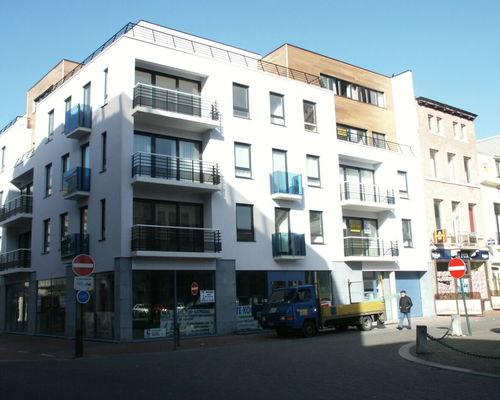 Blankenberge, Hoogstraat 12 (?) Modern appartementsgebouw