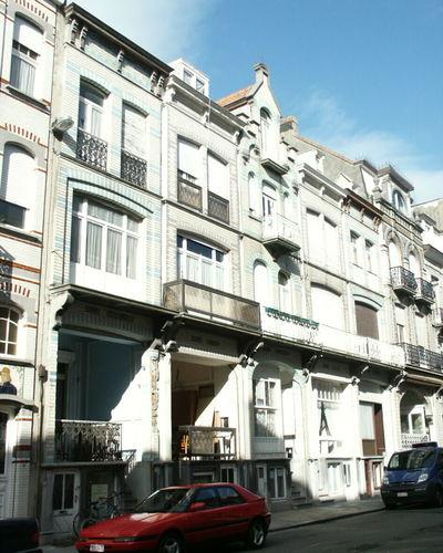 Blankenberge Descampsstraat 12-20