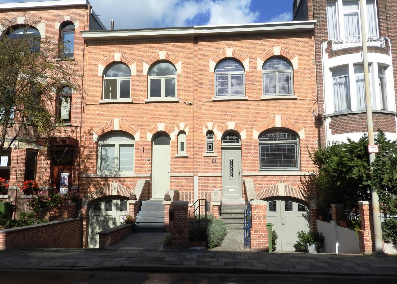 Burgerhuizen in art deco erfgoedobjecten inventaris onroerend