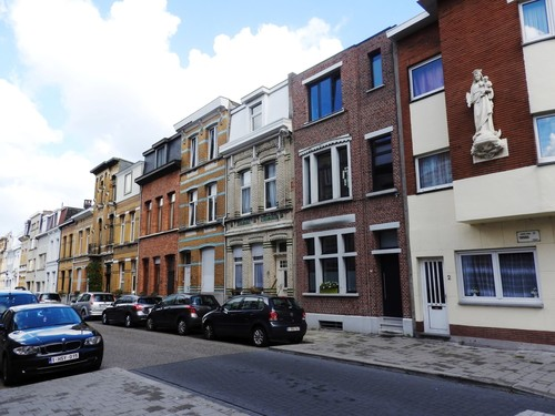 Antwerpen Thisiusstraat straatbeeld