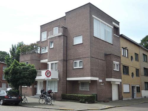 Antwerpen Volhardingstraat 71 noordoostgevel