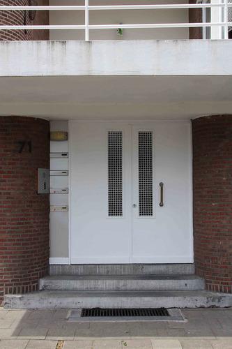 Antwerpen Volhardingstraat 71 voordeur