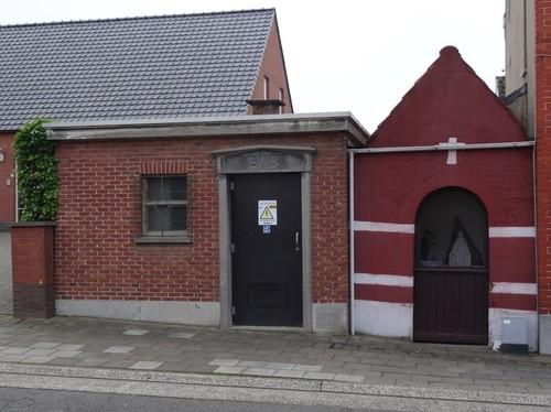Oudenaarde Rekkemstraat zonder nummer Elektriciteitscabine en kapel
