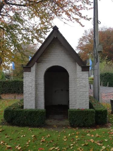 Oudenaarde Kerzelare zonder nummer Ommegangskapel Rugzijde van de kapel Booschap van Maria