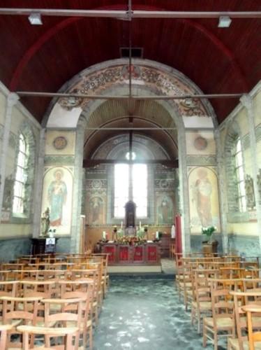 Oudenaarde Materplein zonder nummer Interieur van de Sint-Amelbergakapel