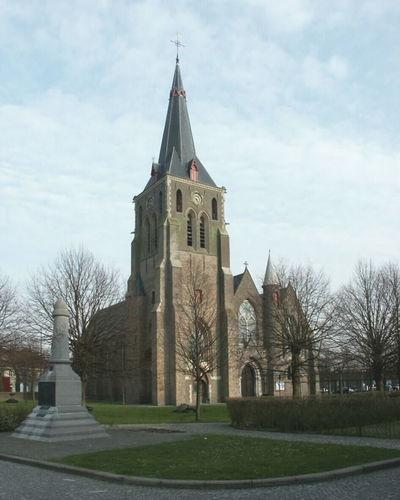 Blankenberge, Uitkerke, Sint-Amanduskerk, Ruiterstraat 1