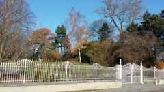 Herenboerenparkje van de vierkantshoeve Snyers