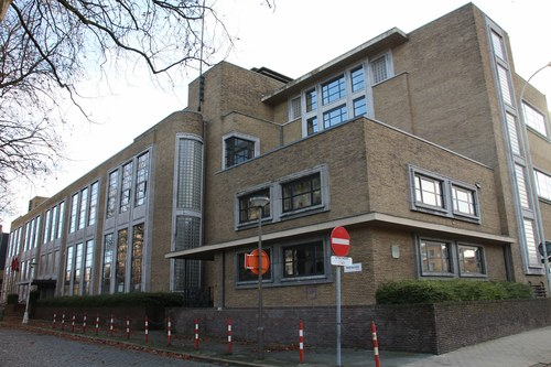 Pestalozzistraat 5-7, zijaanzicht Jan De Voslei