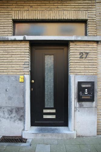 Alfred Coolsstraat 27, voordeur
