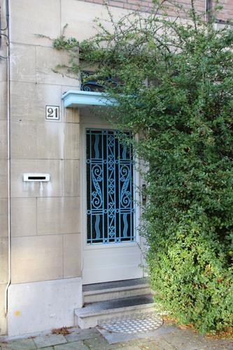 Vlaamsekunstlaan 21, voordeur