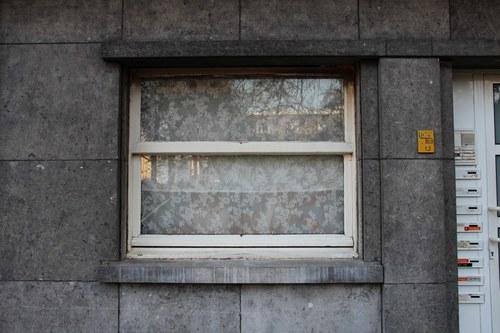 Alfred Coolsstraat 31, enige nog origineel venster