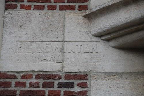 Vlaamsekunstlaan 6, architect