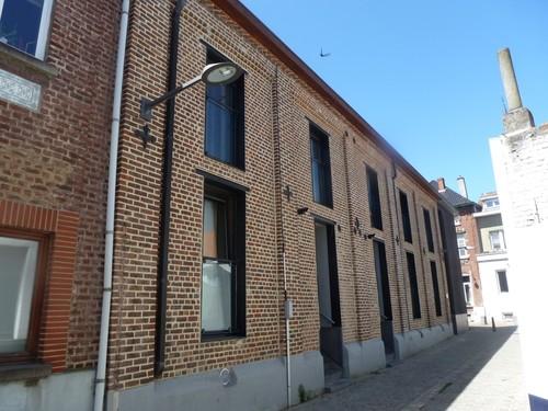 Alsemberg Boonstraat 6-8 bijgebouwen herberg 'De Zwaan'