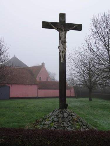 Oudenaarde Heurnestraat 311 Crucifix