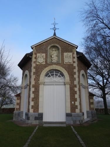 Wortegem-Petegem Heerbaan zonder nummer Onze-Lieve-Vrouw-ten-Doornkapel zuidzijde