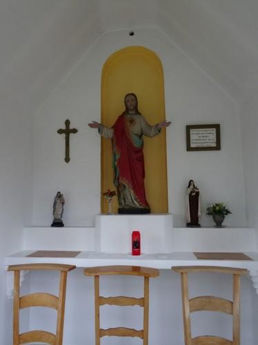 Oudenaarde Rooigem zonder nummer Interieur van de Heilig Hartkapel