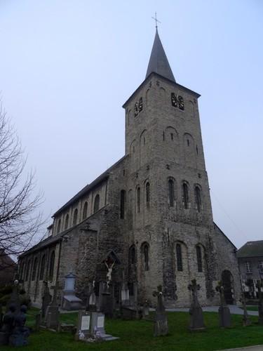 Oudenaarde Enameplein zonder nummer  Sint-Laurentiuskerk oostzijde