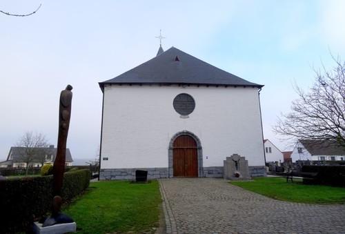 Wortegem-Petegem Moregemplein zonder nummer Sint-Pietersstoelkerk westzijde