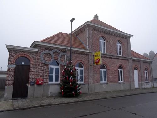 Oudenaarde Heurnestraat 233 Voormalig gemeentehuis en -school