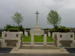 Britse militaire begraafplaats Somer Farm Cemetery