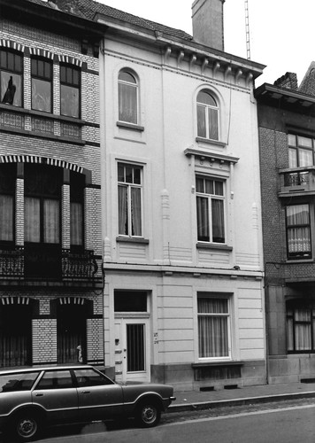 Gent Leeuwstraat 25-29 (anno 2017 nummer 35-39, gesloopt)