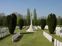 Britse militaire begraafplaats Wytschaete Military Cemetery
