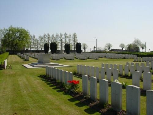 Wijtschate: Wytschaete Military Cemetery