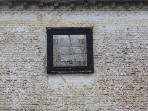 Borgloon, Gors-Opleeuw, Zonnewijzer op kasteel Opleeuw.